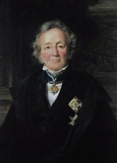Retrato de Leopoldo von Ranke hecho por Adolf Jebens, gran referente del historicismo alemán