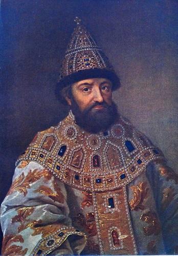 Retrato de Miguel I, fundador de la Dinastía Romanov