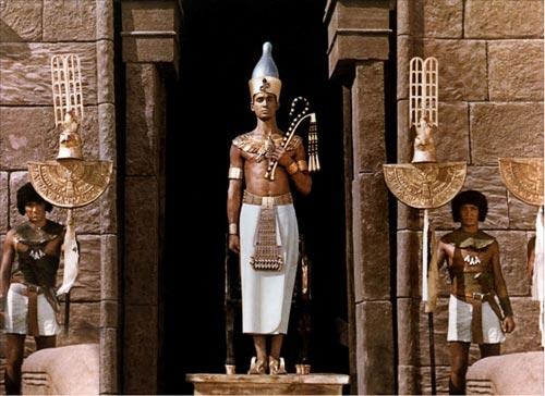 """Uno de los fotogramas de la película """"Faraón"""" dirigida por Jerry Kawalerowicz"""