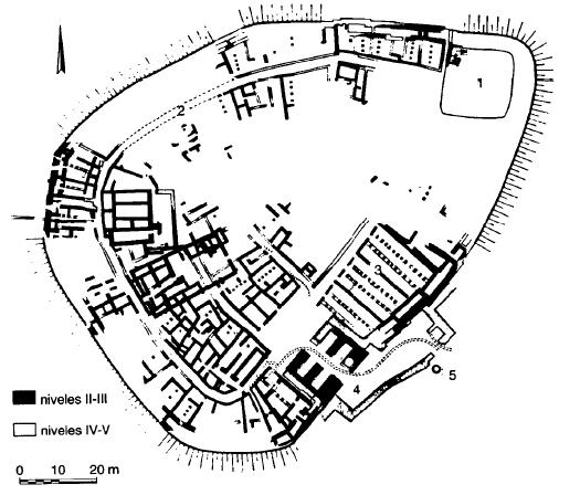 Planta de Beersheba, ejemplo típica de ciudad pequeña de la Palestina de la Edad del Hierro