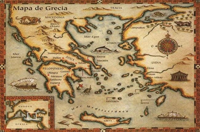 Resultado de imagen de MEDITERRANEO ANTIGUA GRECIA