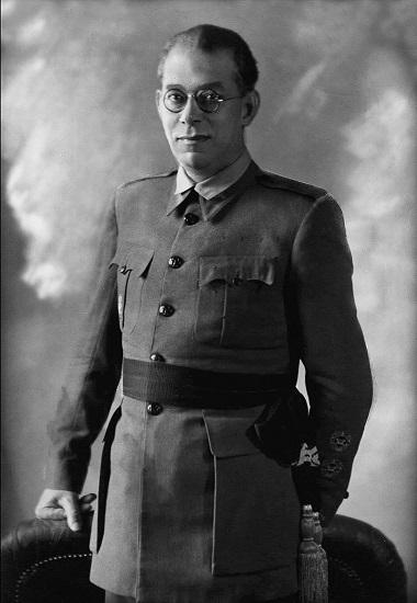Fotografía del general Emilio Mola, uno de los dirigentes del golpe del 18 de julio de 1936