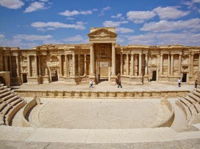 Teatro de Palmira, ubicado en la ciudad de Zenobia de Palmira