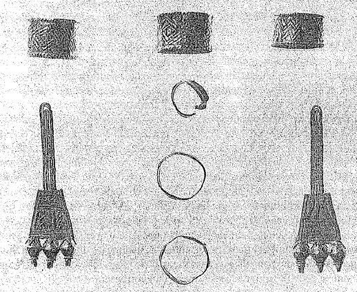 Joyas de oro provenientes de la cremación de una ateniense rica de mediados del s. IX a.C., en la sociedad homérica (Pomeroy, 2012)