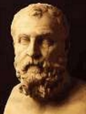 Busto atribuido al tirano Cilón de Atenas, un protagonista de las tiranías griegas
