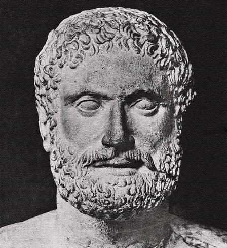 Busto de Pisístrato de Atenas, el gran protagonista de las tiranías griegas