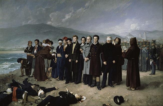 Fusilamiento de Torrijos, hecho clave en la historia contemporánea de España
