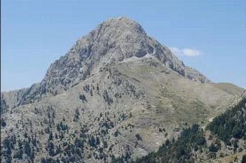 Vista del monte Taigeto