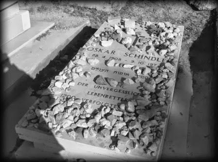 Tumba de Oskar Schindler en Jerusalén, protagonista de la lista de schindler