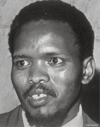 Fotografía de Steve Biko, protagonista de las décadas del final del apartheid