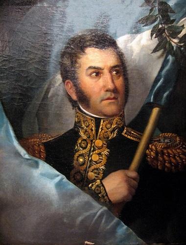 Jose de San Martín, su llegada fue una de las consecuencias de la independencia de Argentina