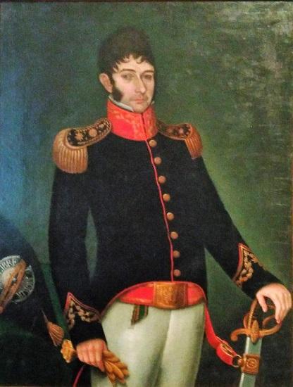 Retrato de Nicolás Rodríguez Peña, uno de los artífices de la Argentina independiente