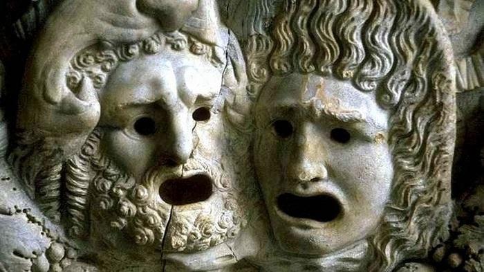 La tragedia griega: Esquilo, Sófocles y Eurípides Imagen-mascaras-tragedia-clasica_822827736_1092238_1020x574