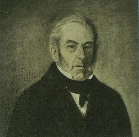 Óleo en el que se representa a Juan Martin de Pueyrredón, director supremo como una de las consecuencias de la independencia de Argentina