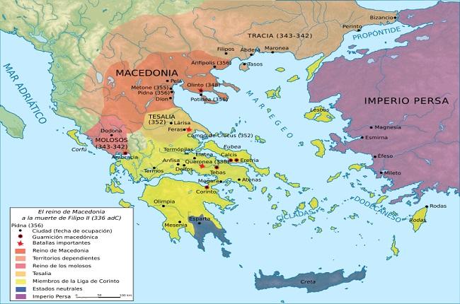 Mapa De Antigua Grecia.La Antigua Grecia En El Siglo Iv A C Un Mundo En Crisis