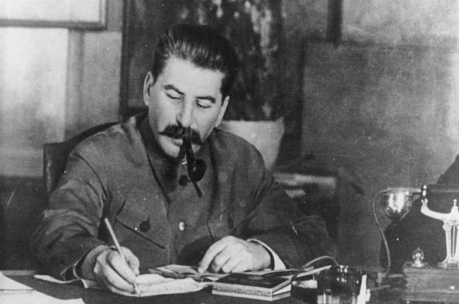 Fotografía de Stalin