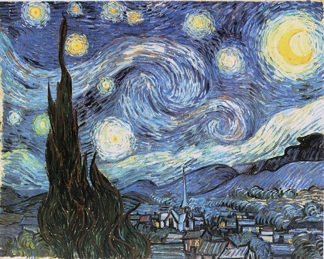 La noche estrellada de Vincent van Gogh 1889