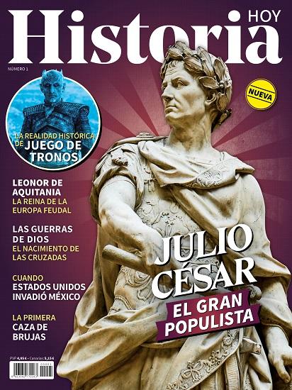 Portada del primer número de la revista Historia Hoy