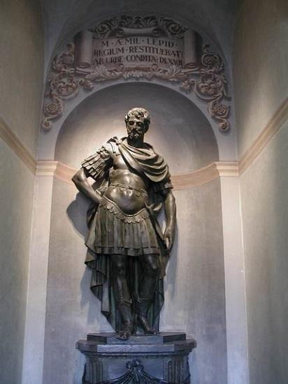 Estatua de Marco Emilio Lépido, nombrado censor en el 179 a.C. por las asambleas romanas