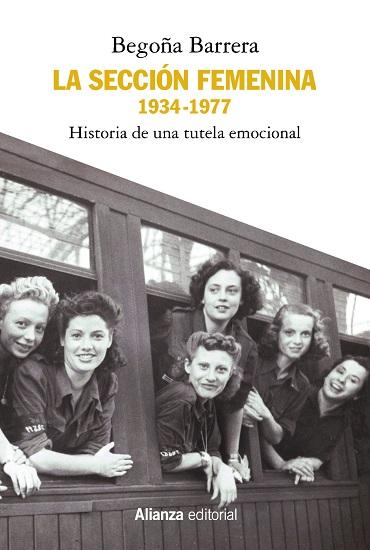 """Portada de """"La Sección Femenina 1934-1977"""", de Begoña Barrera"""