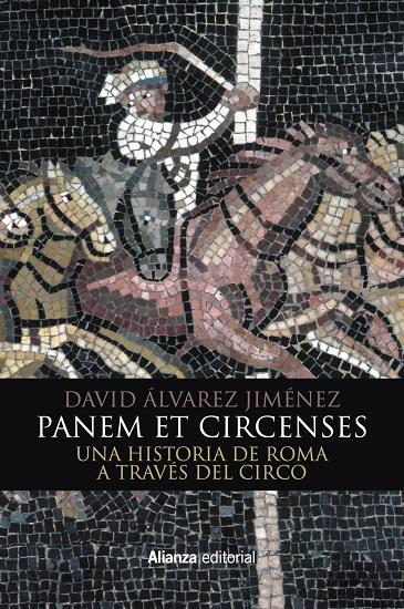 """Portada del libro """"Panem et circenses"""", de David Álvarez Jiménez"""