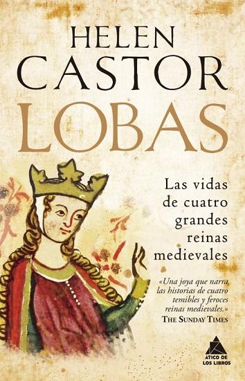 """Portada de """"Lobas"""", de Helen Castor"""