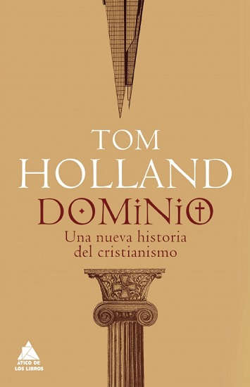 "Portada de ""Dominio"", la nueva obra de Tom Holland"