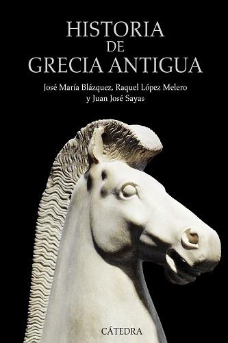 Historia de Grecia antigua, de Jose María Blázquez