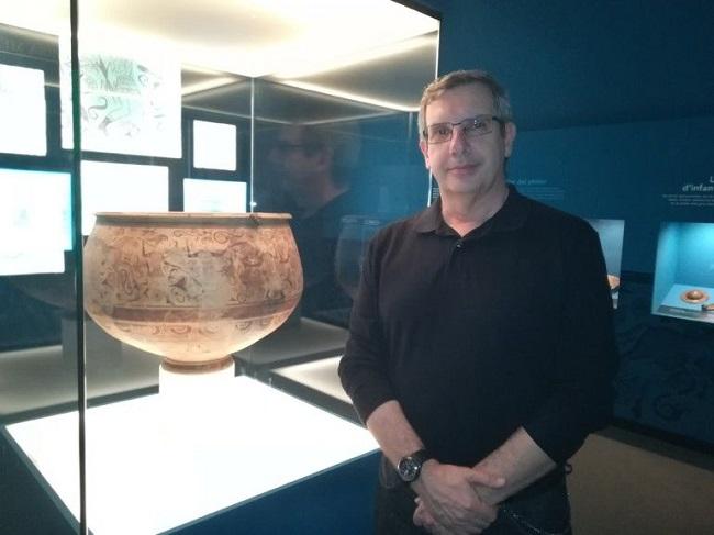 Fernando Quesada Sanz en el Museo de Prehistoria de Valencia
