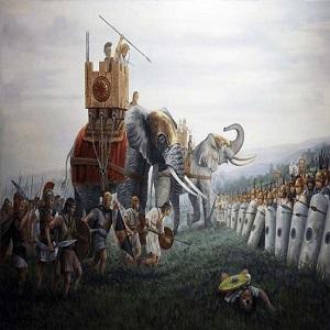 Batallas de Escipión el Africano en Hispania: de Baecula a Ilipa