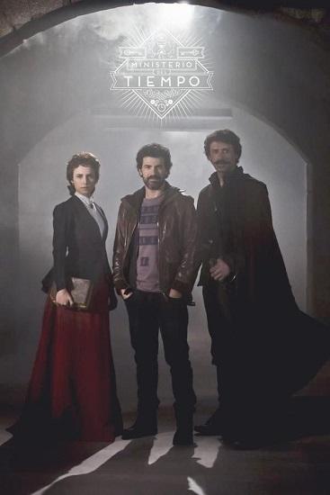 """Cartel de la primera temporada de """"El Ministerio del Tiempo"""""""