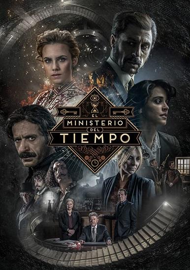 """Cartel de la tercera temporada de """"El Ministerio del Tiempo"""""""