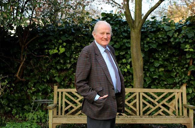 """John Julius Norwich, autor de """"Un reino al sol"""" en una de las últimas entrevistas que concedió en vida"""