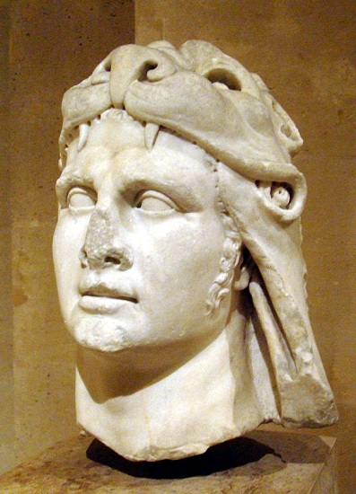 Busto del rey Mitrídates VI el Grande o Eúpator, rey del Ponto