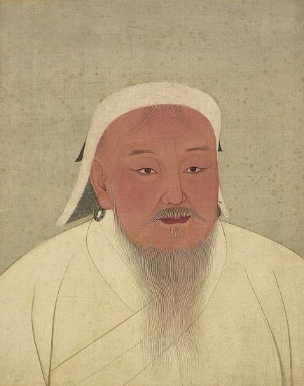 Retrato idealizado de Gengis Kan