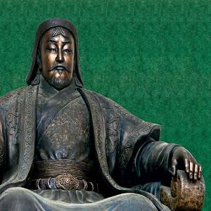 Las conquistas de Gengis Kan, el fundador del Imperio Mongol