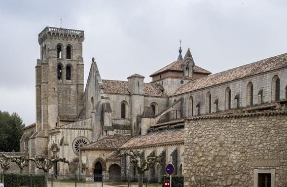 Monasterio de las Huelgas Reales en Burgos, uno de los primeros ejemplos de la llegada del arte gótico en España