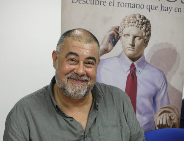 Fotografía de Paco Álvarez, autor de Estamos locos estos romanos