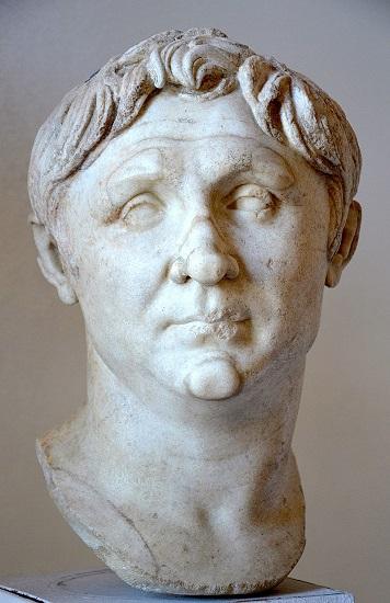 Otro busto de Cneo Pompeyo Magno conservado en el Museo Arqueológico Nacional de Nápoles