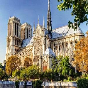 La construcción de la catedral de Notre Dame de París