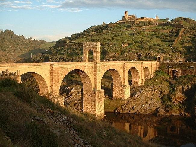 El puente romano de Alcántara