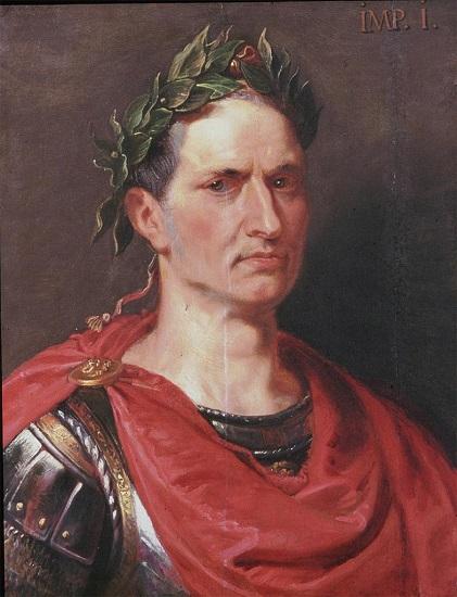 Retrato de Julio César hecho por Rubens en el siglo XVII