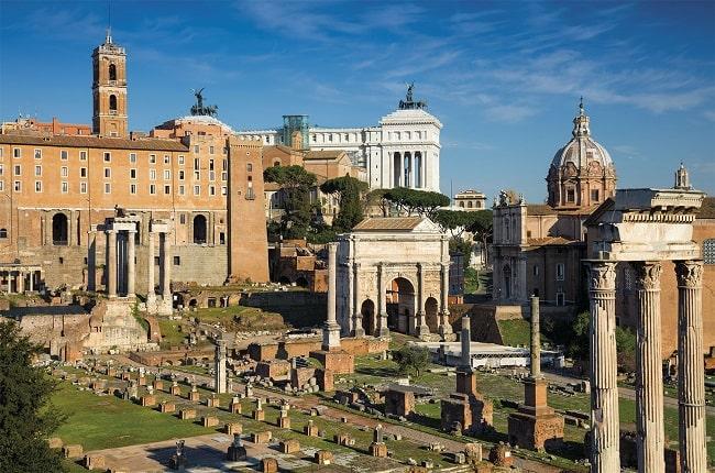 El Foro Romano, escenario del consulado de Julio César