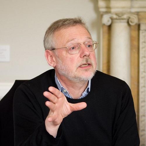 """Fotografía del catedrático en historia medieval Chris Wickham, autor de """"El legado de Roma"""""""