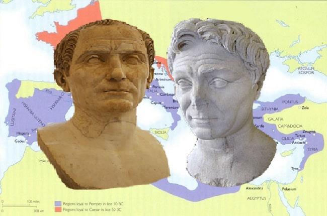 segunda guerra civil romana