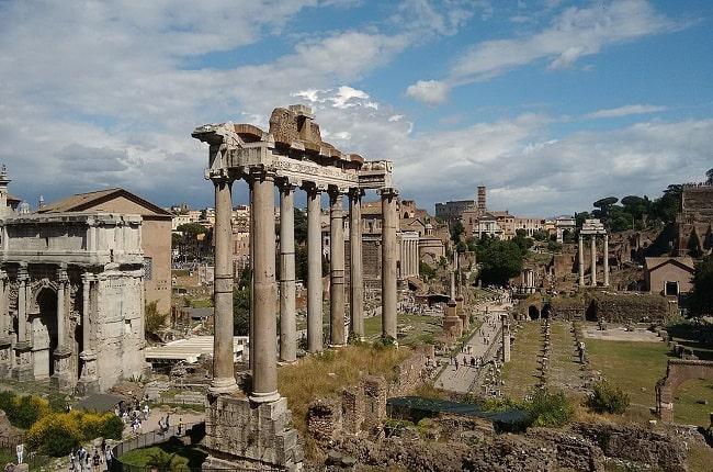 Foro romano, epicentro de la actividad de los emperadores de Roma