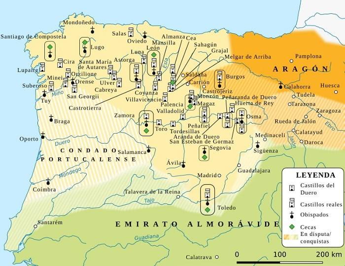 El reino de León durante el reinado de Urraca de León (1108-1126)