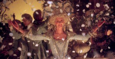 Joely Richardson, actriz que interpretó a la reina María Antonieta en El misterio del collar