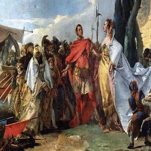 Julio César y Cleopatra, el romance más famoso de la Antigüedad