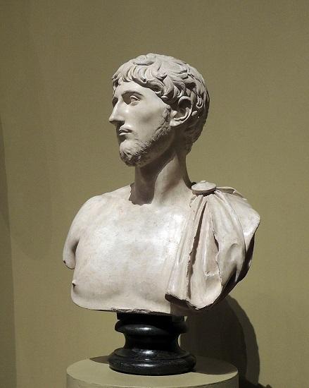 Busto del general romano Marco Emilio Lépido